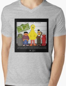 The Usual Muppets Mens V-Neck T-Shirt