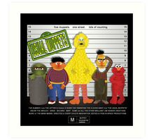 The Usual Muppets Art Print