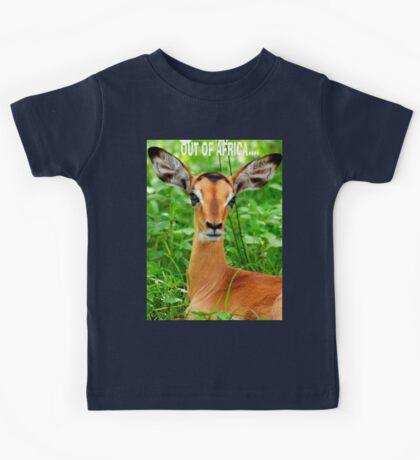 THE BABY IMPALA -  IMPALA - aepyceros melampus Kids Clothes