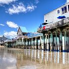 PIER POV at lowest tide... by Poete100