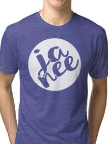 JA NEE - Yes/No Tri-blend T-Shirt