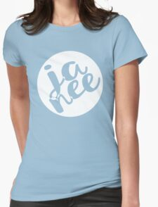 JA NEE - Yes/No Womens Fitted T-Shirt