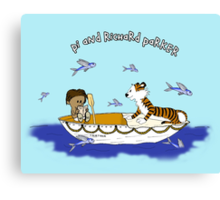 Pi and Richard Parker Canvas Print