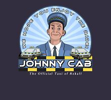 Johnny Cab Womens Fitted T-Shirt