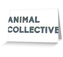 Animal Collective - Merriweather Post Pavilion  Greeting Card