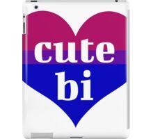 cute bi! iPad Case/Skin