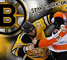 Shawn Thornton Bruins by hockey3