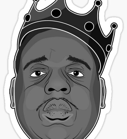 BIGGIE SMALLS Sticker