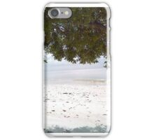 The beach on Christmas Morning iPhone Case/Skin