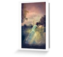 A Muse of Fire Greeting Card