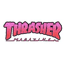 THRASHER / BRAINZ Photographic Print