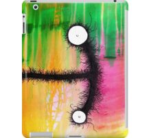 the creatures from the drain painting 3 iPad Case/Skin