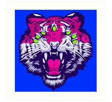 Seven-Eyed Tiger Art Print