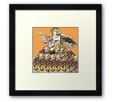 Fantasy Fairy Gown  Framed Print