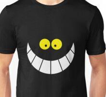 alice in wonderland cat smile Unisex T-Shirt