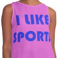 I Like Sports Contrast Tank