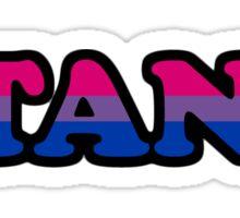 BISTANKUAL BISEXUAL STANK Sticker