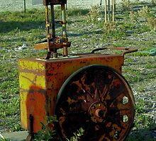 Antique Gas Pump ~ Wonder How Much Gas Cost Back Then? by Marie Sharp