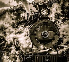 Engine Number 15 - Exiting The Yard by Shadrags