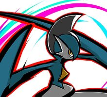 Shiny Gallade | Psycho Cut by ishmam