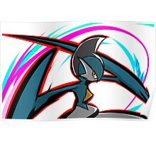 Shiny Gallade | Psycho Cut Poster