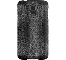 Muddled Script Samsung Galaxy Case/Skin