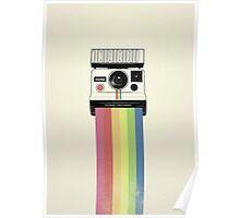 Polaroid vs Instagram Poster