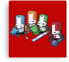 Castle crashers Canvas Print