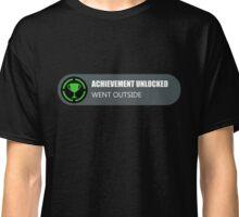 Achievement Unlocked: Went Outside  Classic T-Shirt