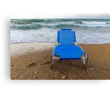 Sun lounger  Canvas Print