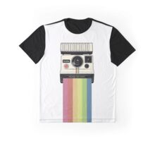 Polaroid vs Instagram Graphic T-Shirt