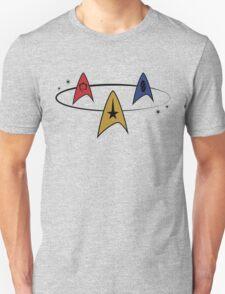 Star Trek Fleet Insignias Unisex T-Shirt