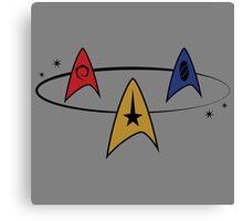 Star Trek Fleet Insignias Canvas Print