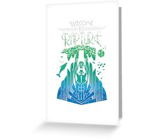 Welcome to Rapture Greeting Card