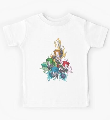 Castle crashers Kids Tee