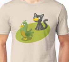 Cat Bird Unisex T-Shirt