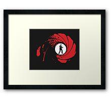 James Bond 007 Framed Print