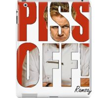 PISS OFF! iPad Case/Skin