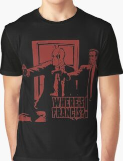 Dead Fiction - Red #4 Graphic T-Shirt