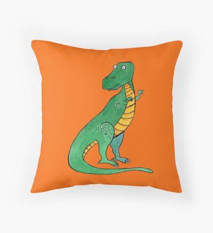Tyrannosaurus Throw Pillow