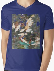 Garden Leaves  Mens V-Neck T-Shirt