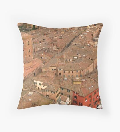 Siena - Rooftops Throw Pillow