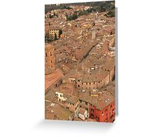 Siena - Rooftops Greeting Card