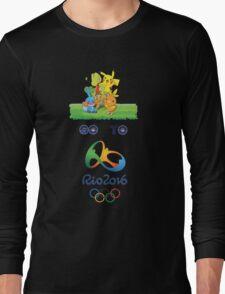 pikachu in brasil Long Sleeve T-Shirt