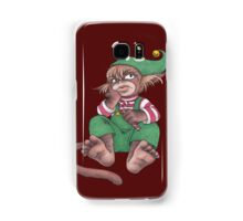 Santa's Unhappy Little Helper Samsung Galaxy Case/Skin