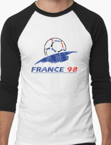 France 98 - Vintage Men's Baseball ¾ T-Shirt