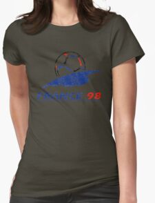 France 98 - Vintage Womens Fitted T-Shirt