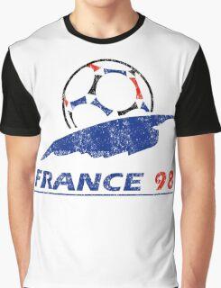 France 98 - Vintage Graphic T-Shirt