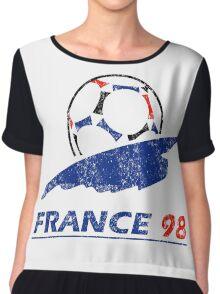 France 98 - Vintage Chiffon Top