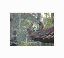 Bali Monkeys Divide Stolen Goods Unisex T-Shirt